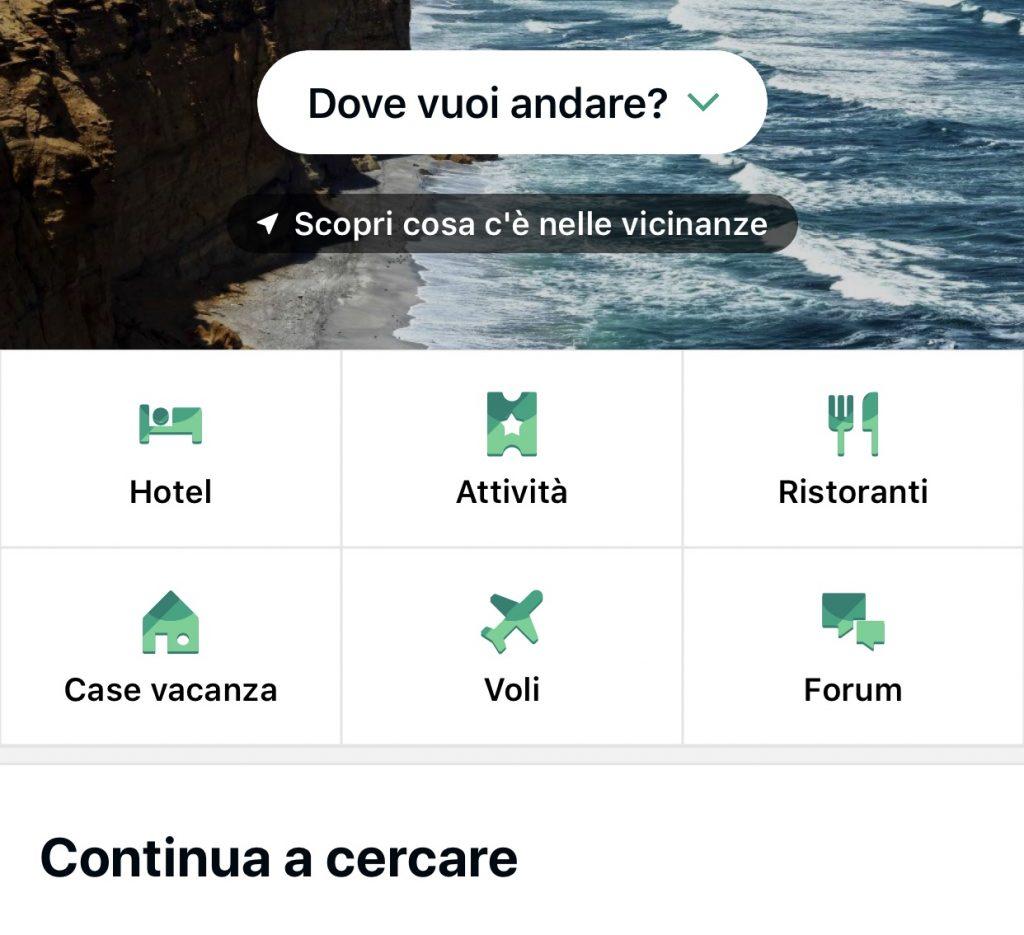 App tripadvisore