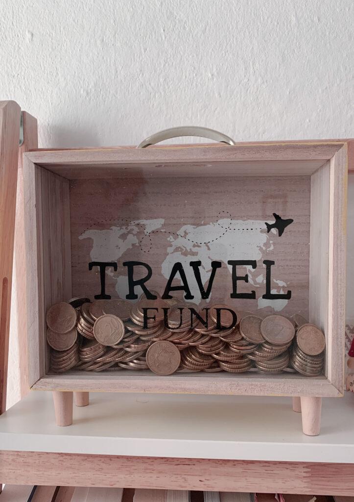 Salvadanaio travel fund
